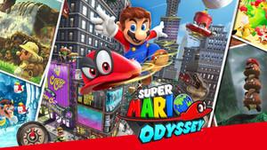 老少咸宜的欢乐盛宴 - 小评Mario Odyssey