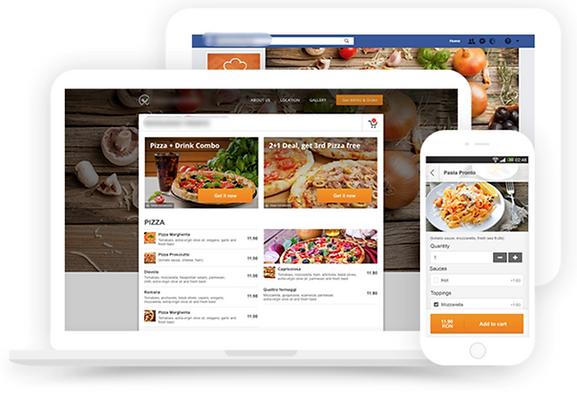 Système de réservation et commande en ligne pour restaurant