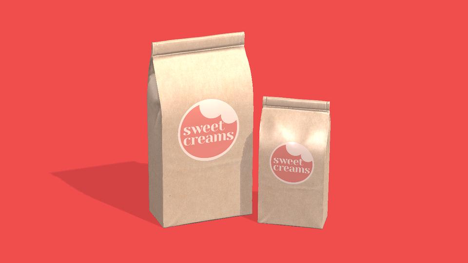 Sweet Creams on Bag