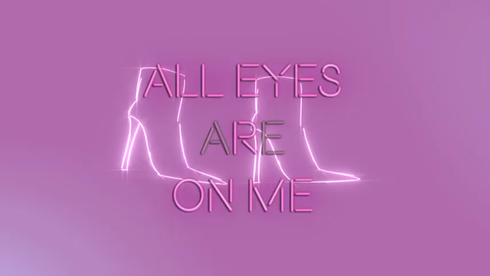 'All Eyes Are On Me' Lyric Video