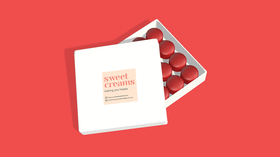 Sweet Creams on Box