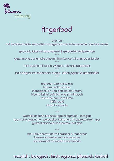 bluem catering menüvorschläge fingerfo