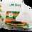 Thumbnail: ถุงใส่อาหาร M Bag (50 ชิ้น)