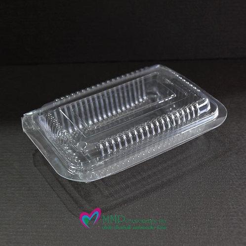 กล่องเบเกอรี่ทรงเหลี่ยม PET เบอร์ R12