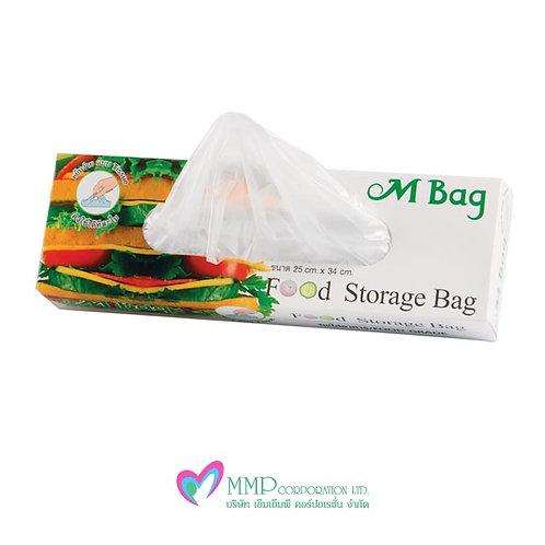ถุงใส่อาหาร M Bag (50 ชิ้น)