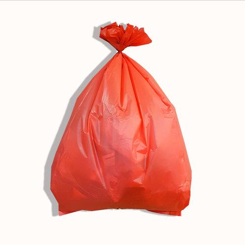 ถุงขยะสีแดง
