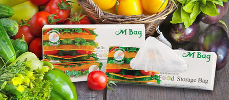 ถุงยืดอายุผักผลไม้ เอ็ม แบค Food Grade หยิบง่าย ใช้สะดวก