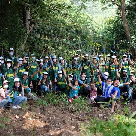 "MMP CORP.หนุนโครงการ ""ปลูกป่าไผ่ ปลูกชีวิตชุมชน"""