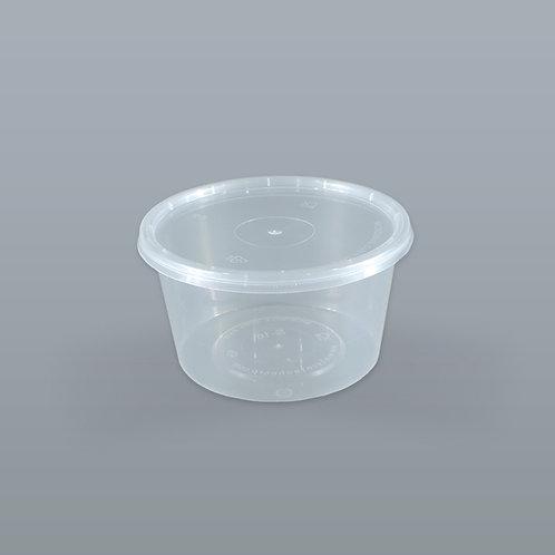 กล่องอาหารเดลิเวอรี่ 16 oz (ทรงกลม) บรรจุ 25 ชุด/แพ็ค