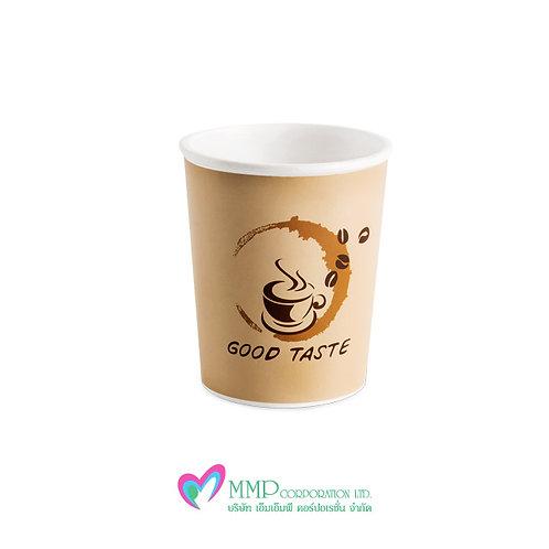 แก้วกาแฟร้อน 8 oz  (50 ใบ/แถว)