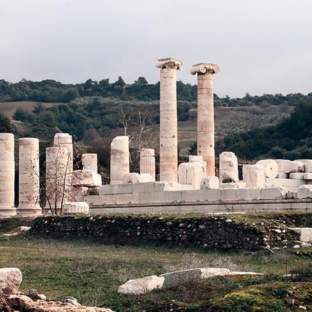 The Temple of Artemis   Ephesus, Turkey