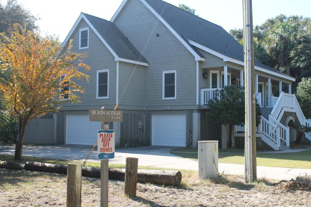 Fripp Island Rental Beach Access 2