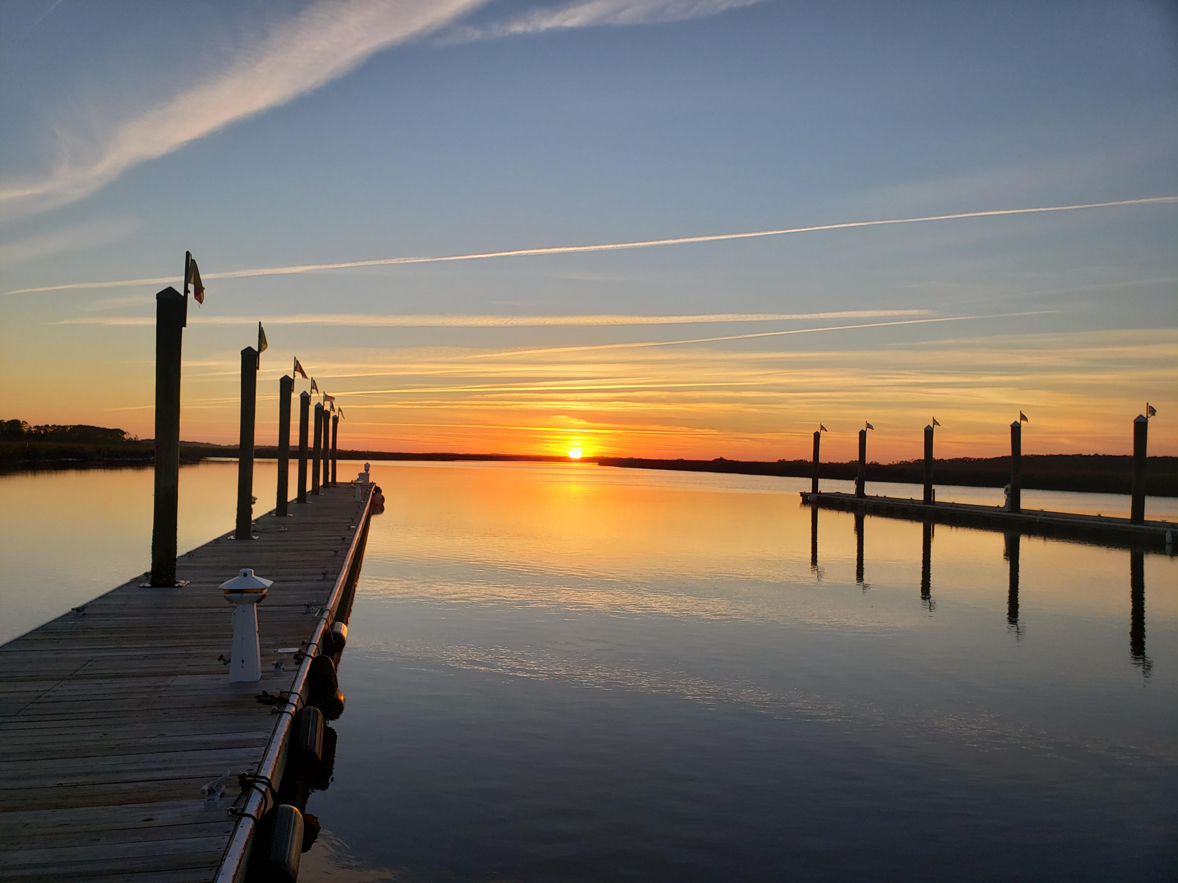 Sunset at Boathouse 2_Fripp Island Renta