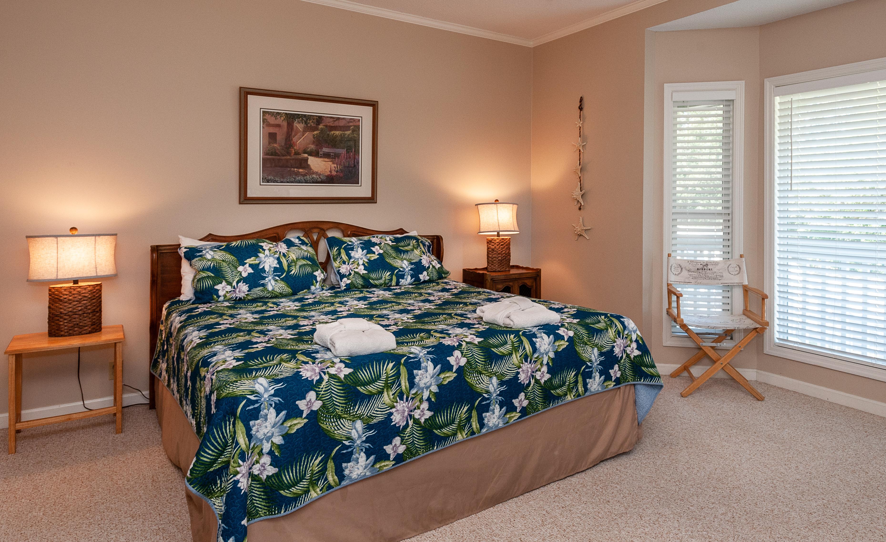 King Bedroom_Fripp Island Rental