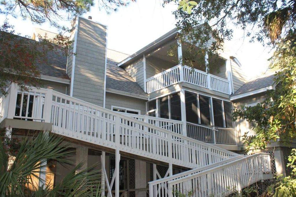 Fripp Island Rental ramp