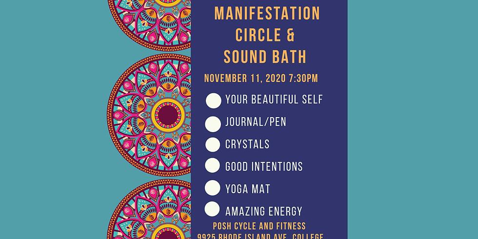 1111 Manifestation Circle & Sound Bath