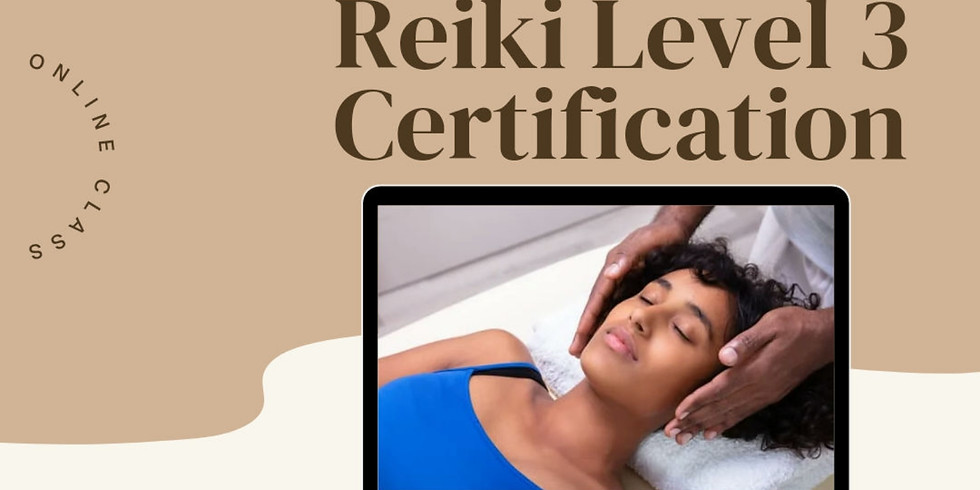 Reiki Level 3 Certification