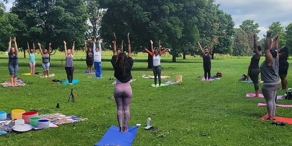 Sound Bath & Yoga in the Park