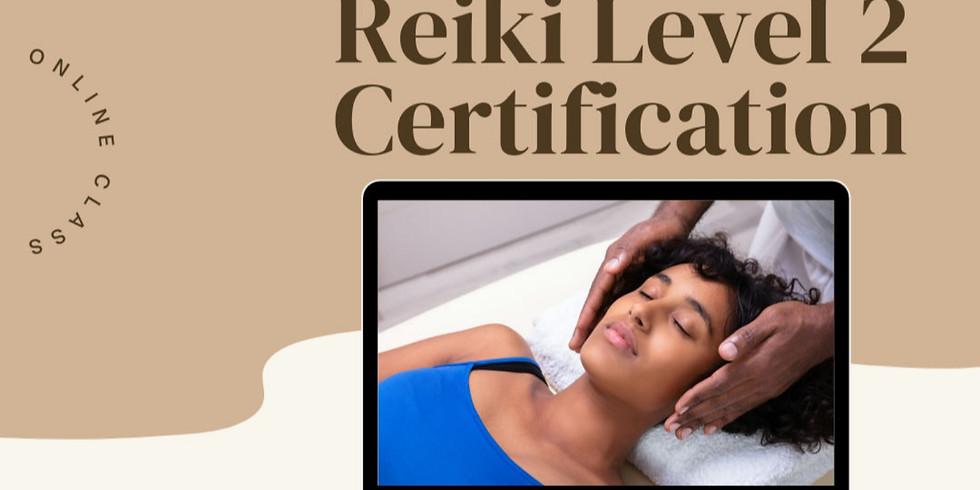 Reiki Level 2 Certification