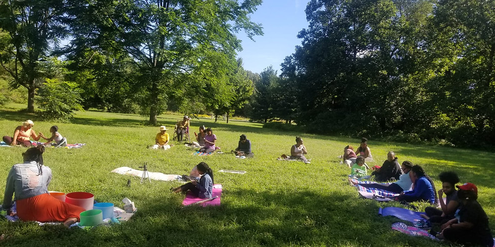 Sound Bath Meditation in the Park