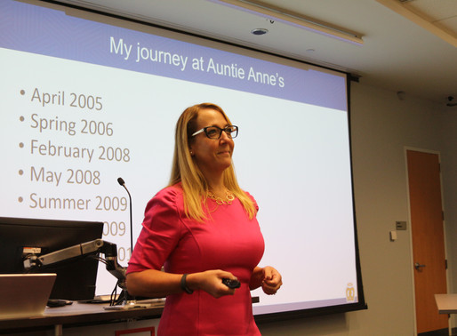 Auntie Anne's Speaker Session
