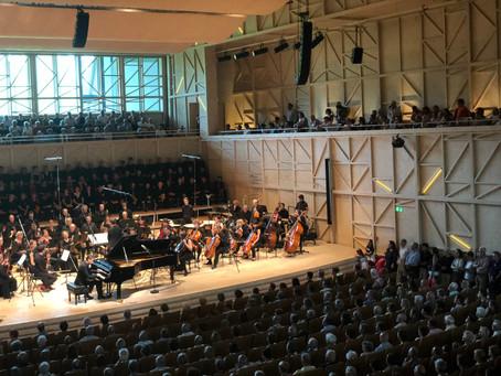 Concert du choeur de La Barranca au Rosey Concert Hall