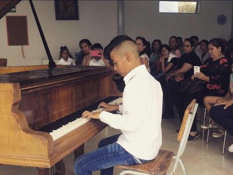 Camp musical à Guadalajaja