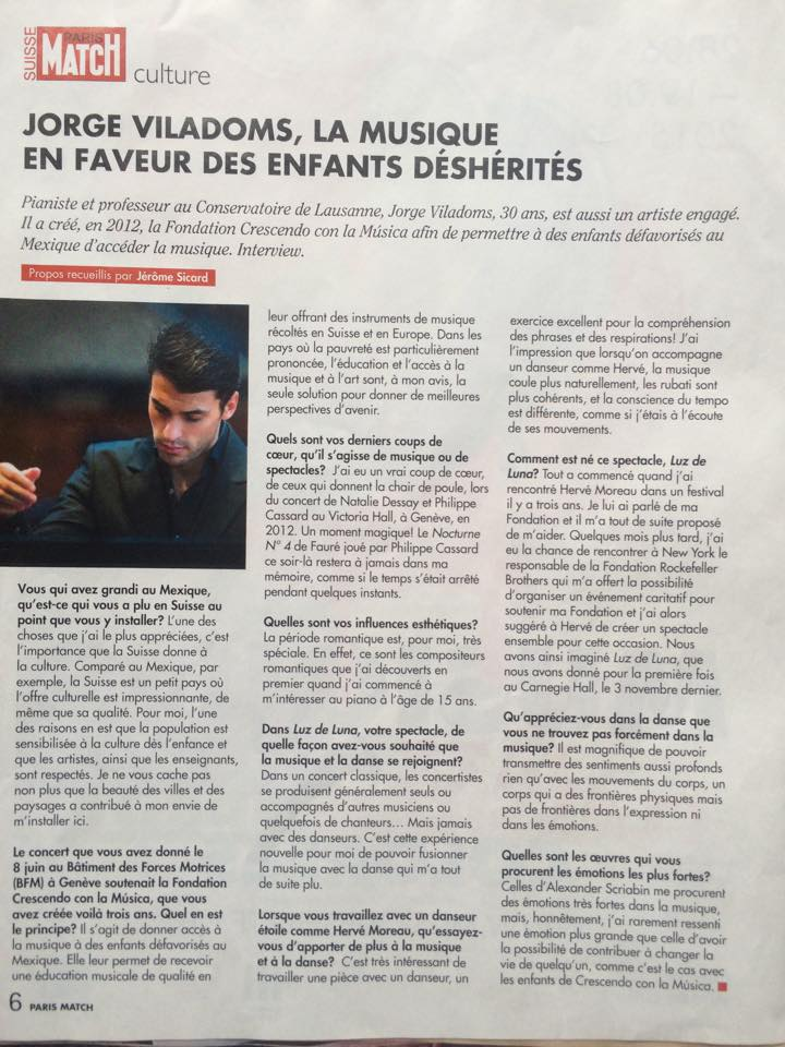 Article Paris Match