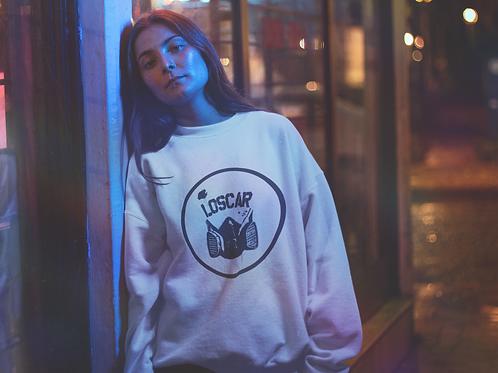 "Crewneck sweater ""Circle Loscar Logo"""
