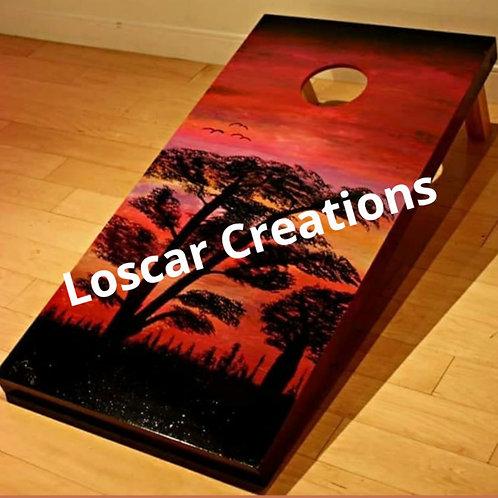 Cornhole Board (Sold)