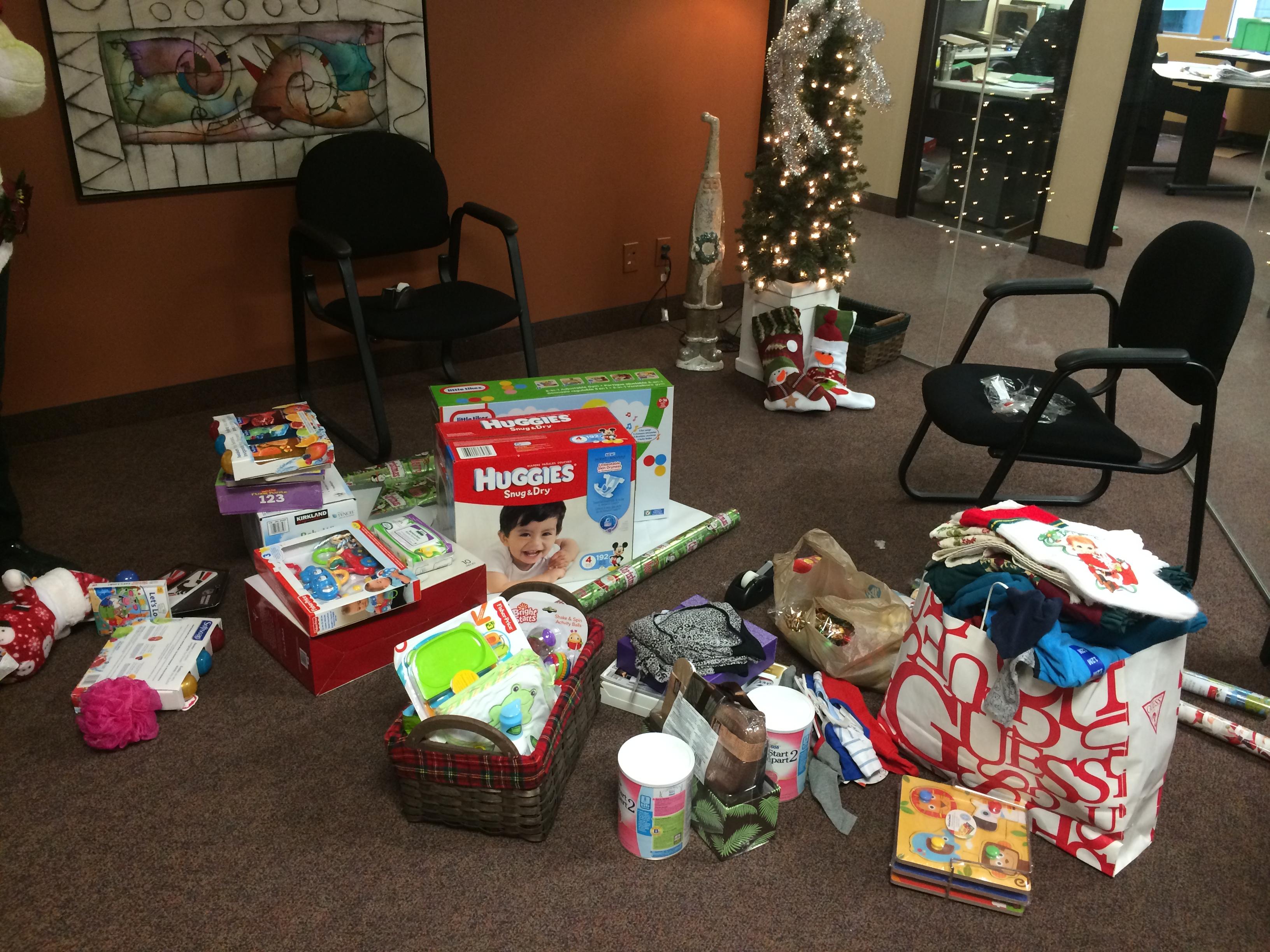 Adopt a Family Christmas 2014