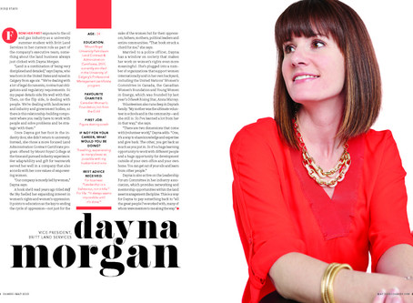 Dayna Morgan: Oilweek Rising Star