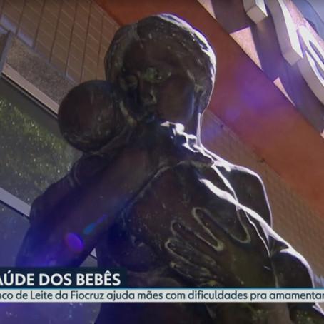 Banco de Leite do Instituto Fernandes Figueira é referência em todo o país