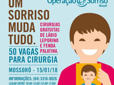 Mutirão da Operação Sorriso Brasil em Mossoró