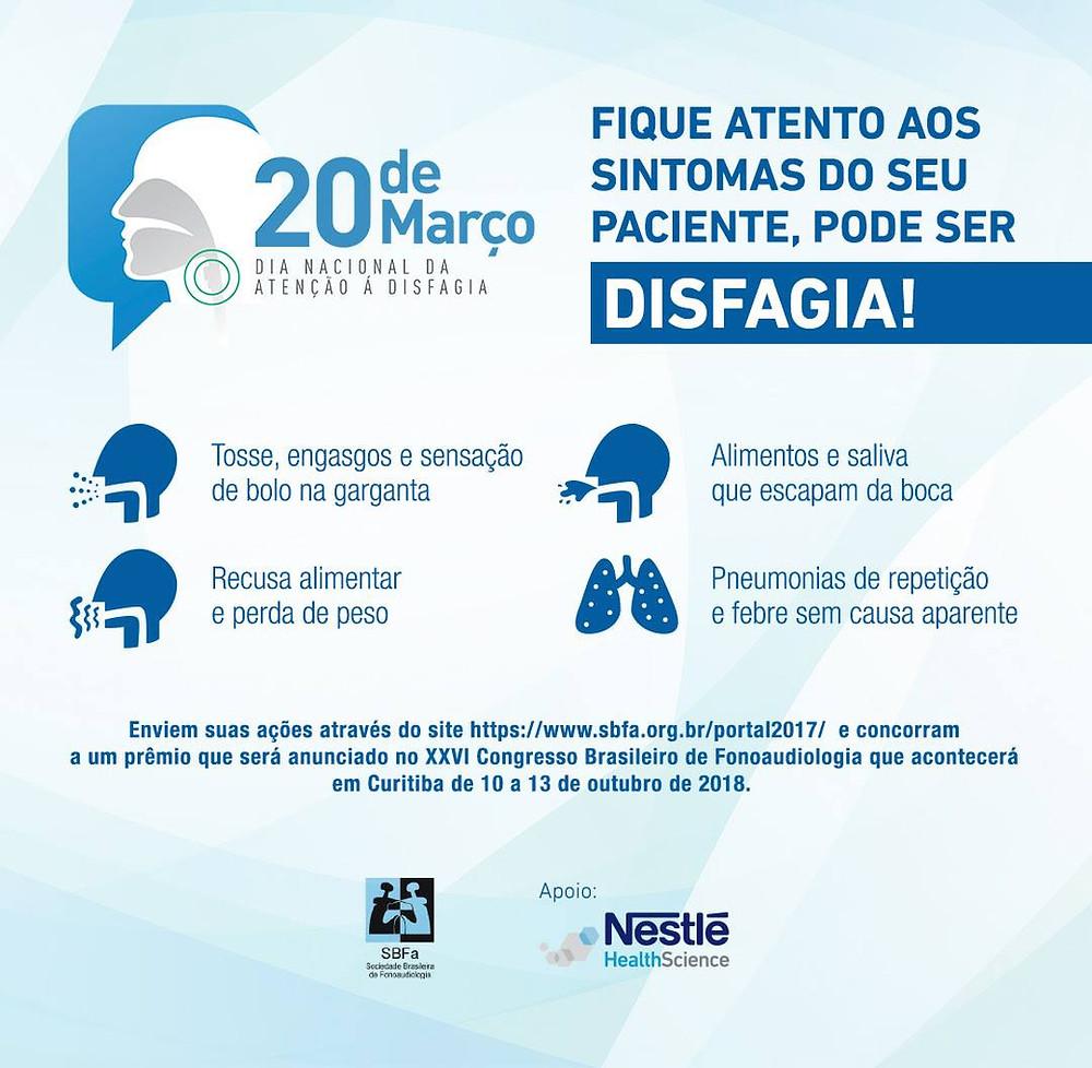 Dia Nacional da Atenção à Disfagia