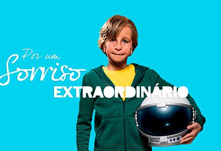 Filme Extraordinário ajuda a Operação Sorriso Brasil.
