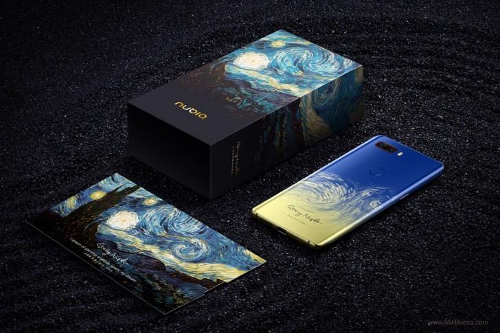 ZTE Nubia Z18 van Gogh edition