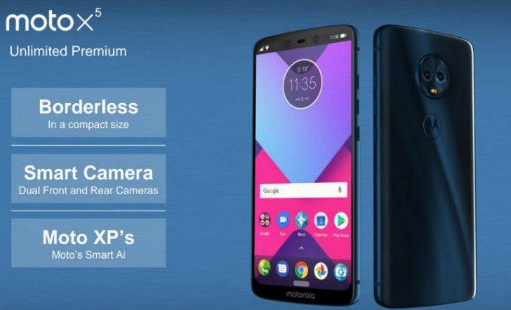Moto X5 render