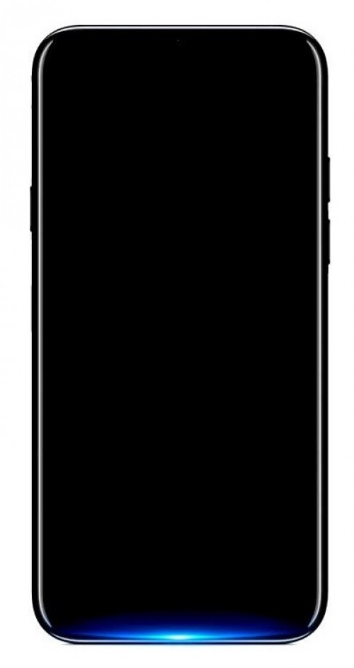 Oppo Find X front panel