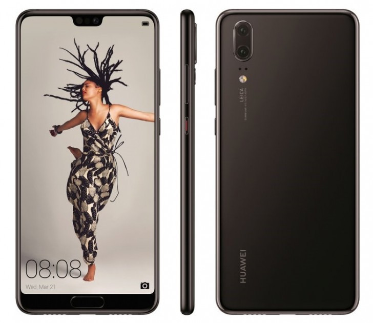 Huawei P20 press render