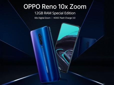 Έρχεται το Oppo Reno 10x zoom Special Edition με 12GB ram σε Ocean Blue απόχρωση