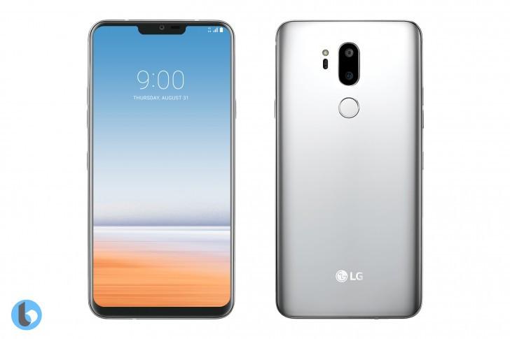 LG G7 concept renders