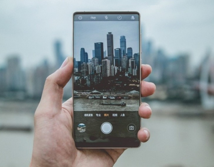 first real-life photo of Nubia Z18