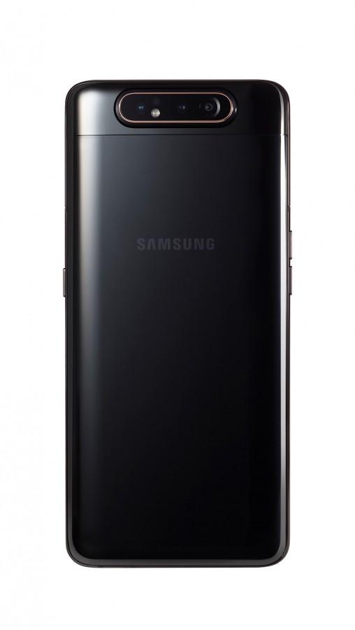 Galaxy A80 in Phantom Black