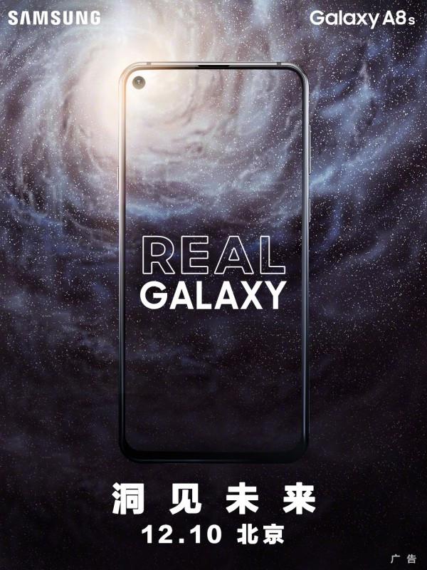 Samsung Galaxy A8s poster