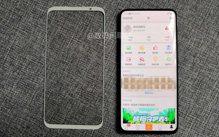 Meizu 16 Plus front panel vs Oppo Find X