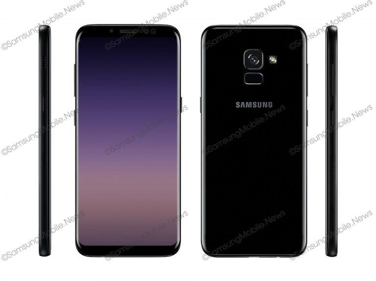 Samsung Galaxy A7 (2018) render