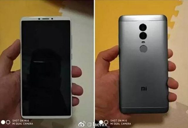Xiaomi Redmi Note 5 leak