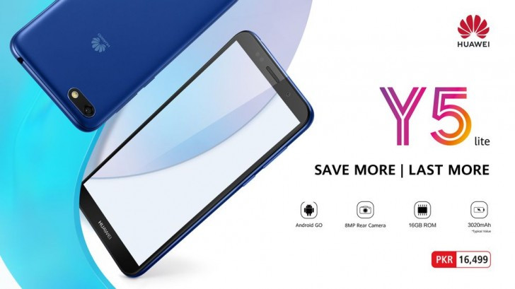 Huawei Y5 Lite Android Go edition