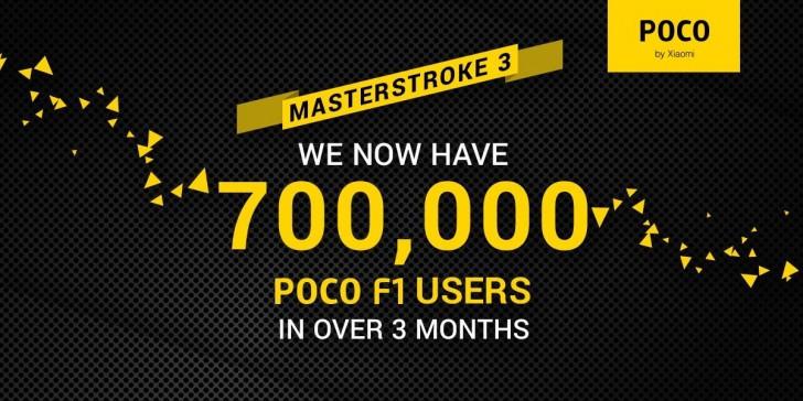 Pocophone F1 sold 700000 units